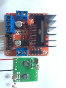 Solar Tracker, zweiachsige Stabilisatorplatine, kompletter Satz mit Motorantrieb