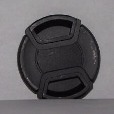 Used 52mm Lens Front Cap Black snap on type - worldwide