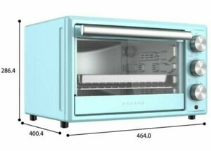 Galanz 0.9 Cu.Ft Toaster Baking Oven with Roasting Crumb Rack. Red Or Blue & NEW