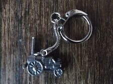 Pewter replica THE ROCKET TRAIN keyring