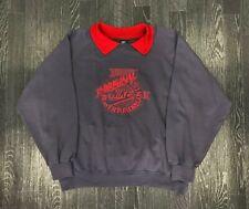 Vintage 80s NIKE BEAVERTON OREGON Mens Sweatshirt   Retro Sport Italy   XL Grey