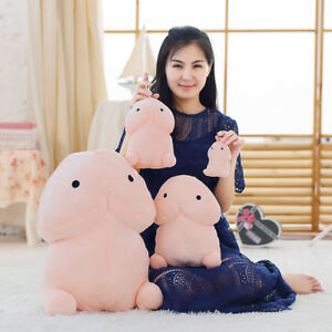 Cute Penis Plush Doll Toy Stuffed Creative Dick Soft Pillow Cushion Bolster Gift