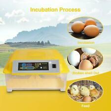 Digital 48 Egg Incubator Hatcher Bird Chicken Duck Automatic Turning New M5B8