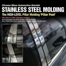 Stainless Steel Chrome Window Pillar Molding 8P For HYUNDAI 2002-2005 Santa Fe