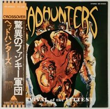 Headhunters Survival Of The Fittest Arista IES-80625 OBI JAPAN PROMO VINYL LP