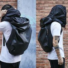 "Fashion 15.6"" Unisex Women Men Backpack Travel Laptop Outdoor School Bag Black"
