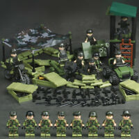 4 in 1 Jungle Special Force MILITARY Army WW2 SWAT Camouflage Soldier  Fit Lego