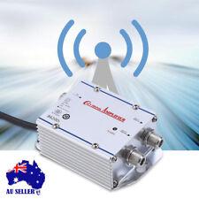 220V Home 2 Way Output CATV TV VCR Antenna Signal AMP Amplifier Booster Splitter