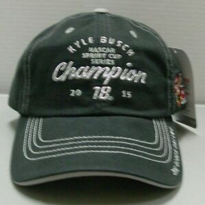 Kyle Busch Sprint Cup Championship Ladies Hat By Checkered Flag Sports Free Ship