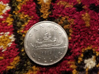 Canada 1984 One Dollar Coin.