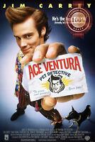 NEW ACE VENTURA PET DETECTIVE MOVIE FILM ORIGINAL CINEMA PRINT PREMIUM POSTER