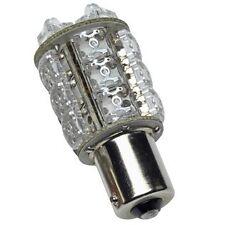Led Ba15s 12v 20 Led Blanco Cálido de contacto único interior Bombilla sf20si-12-ww
