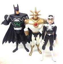 """DC Comics Justice League 5 """"CARTOON cifre x 3 Batman, Azure, dottor LUCE"""