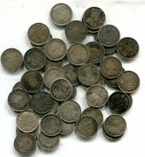Canada - Lot of 50 Low Grade Five Cent Silvers