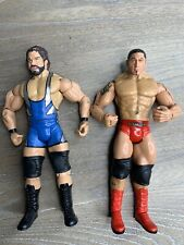 Batista 2007 & Charlie Haas 2003 JAKKS WWE Collection Wrestling Figures