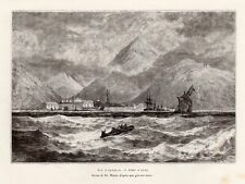 AYAN PORT MER OKHOTSK RUSSIE RUSSIA IMAGE 1881 PRINT