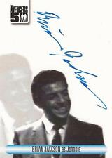 "The Avengers 50th Ann - AVBJ Brian Jackson ""Johnnie"" Blue Auto / Autograph"