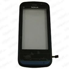 Kit TOUCH SCREEN +VETRO PER NOKIA C6 C6-00 NERO DISPLAY LCD COVER VETRINO NUOVO