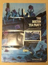 The Boston Tea Party  -  USPS Stamp Collecting Lobby Poster #307   30 x 40""