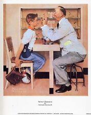 Norman Rockwell Saturday Evening Post Print NEW GLASSES