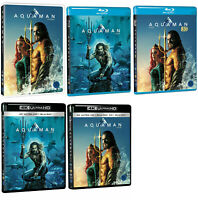 Aquaman - 4K UHD, 3D, 2D, Blu-ray, DVD (2019) / Pick format !