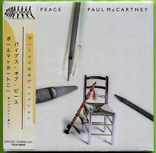 Paul McCartney PIPES OF PEACE Gatefold Japan mini LP CD w/OBI Michael Jackson