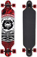 QingAn Longboard Skateboard, 41-Inch Downhill Skateboard Through Deck 8-Layer,US
