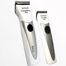MOSER ChromStyle 1871 + MOSER 1591 Professional Clippers Trimmers New white