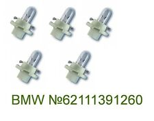 BMW E38 E39 E53 INSTRUMENT CLUSTER BACKLIGHT REPLACEMENT BULB OEM 5PCS BRAND NEW