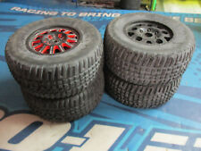 Team Associated 1/10 truck tires and rims FRONT