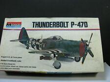 THUNDERBOLT  P-47 D  1:48  MONOGRAM