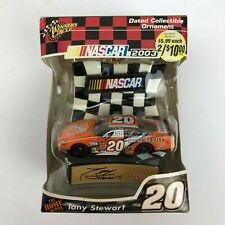 Winter's Circle 2003 NASCAR Dated Collectible Ornament - Tony Stewart #20 - New