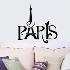 Paris Eiffel Tower Wall Sticker DIY Removable Vinyl Decal Art Mural Home Decor