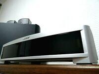 BOSE 3-2-1 GSX SERIES II 2.1 KOMPLETT-SYSTEM DVD/CD RADIO FESTPLATTE uMusic - W2