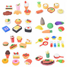 Food Dessert Gomas De Borrar Kawaii Material Escolar Erasers For Kids QT3