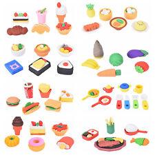 Food Dessert Gomas De Borrar Kawaii Material Escolar Erasers For Kids TO