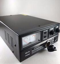 60 Amp 12v DELTA DPS60M AC/DC Power Supply w/ Volt AMP Meter Ham CB Radio