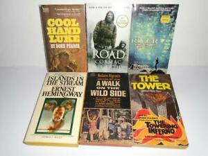 Lot of 6 Movie Tie-In pbs Cool Hand Luke Islands in the Stream The Road