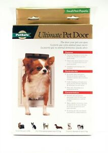 Pet Safe Ultimate Pet Door ~ Heavy Duty - Small - For Pets up to 12 lbs ~ New