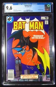 Batman #315 (1979) CGC 9.6...Kite-Man cover & story