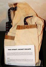 Straitjacket/Straight Jacket Houdini Escape Stage or Street Magic Trick Illusion