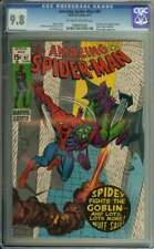 AMAZING SPIDER-MAN #97 CGC 9.8 OW/WH PAGES // DRUG STORY NOT APPROVED BY CCA