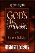 God's Witnesses by Herbert Lockyer  1997(New)
