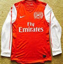 $199 Rare Arsenal 2011/2012 Jersey/Kit/Shirt Medium 125th Anniversary Home Nike