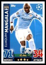 Match Attax Champions League 15/16 Elaquim Mangala Manchester City No. 42