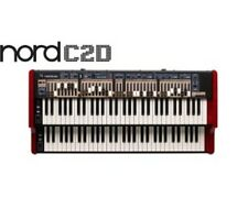NORD C2D DUAL 61 MANUAL COMBO ORGAN.. FREE SHIPPING..  NEW WARRANTY