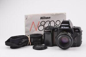 EXC+ NIKON N8008 BODY w/MF-21 MULTI-FUNCTION BACK + AF 50mm F1.8 LENS, MANUAL