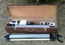 New listing Vtg jason telescope 307 explorer org wooden case many parts 1965