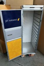 More details for bnib jet aircraft galley catering service trolley half cart incl. new drawers
