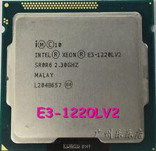 CPU Intel xeon E3-1220L V2 17W GEN8 SR0R6 LGA 1155 2.3GHZ Processor CPU